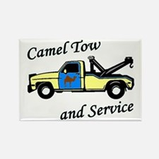 Camel Tow Rectangle Magnet