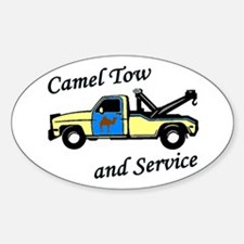 Camel Tow Oval Decal