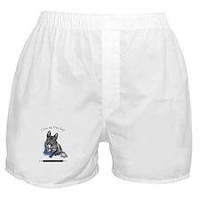 Frog Dog (Brindle Boy) Boxer Shorts