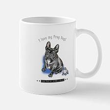 Frog Dog (Brindle Boy) Mug
