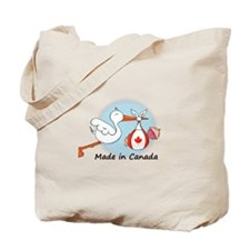 Stork Baby Canada Tote Bag