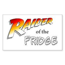 Raider of the Fridge Rectangle Decal