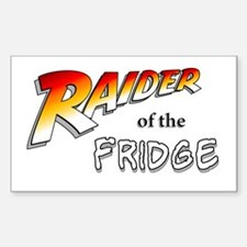 Raider of the Fridge Rectangle Decal