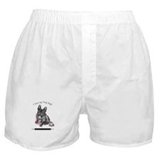Frog Dog (Brindle Girl) Boxer Shorts