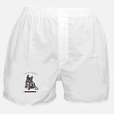 Frog Dog (Brindle Girl) Boxer Shorts