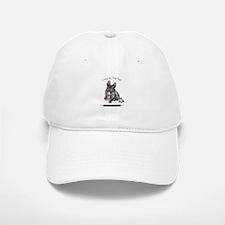 Frog Dog (Brindle Girl) Baseball Baseball Cap