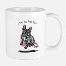 Frog Dog (Brindle Girl) Mug