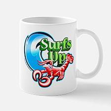 Surfs up lobster Mug