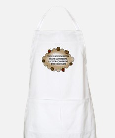Friends With Chocolate Apron
