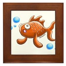 Little Fish Framed Tile