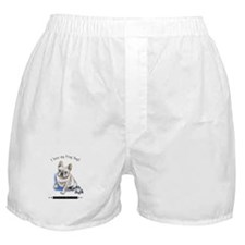 Frog Dog (Cream Boy) Boxer Shorts