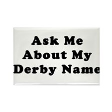 Derby Name Rectangle Magnet (100 pack)
