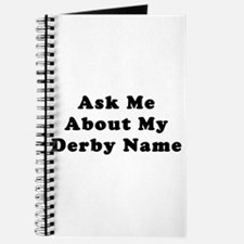Derby Name Journal