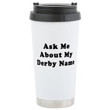 Derby Name Travel Mug
