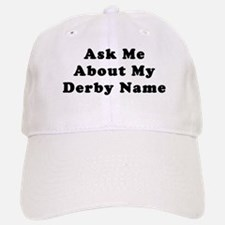 Derby Name Baseball Baseball Cap