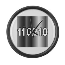 Vote 11 02 10 Large Wall Clock