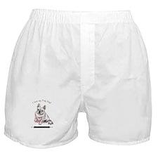 Frog Dog (Cream Girl) Boxer Shorts