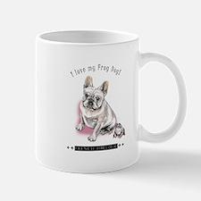 Frog Dog (Cream Girl) Mug