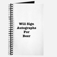 Cool Autograph Journal