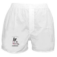 Frog Dog (Pied Girl) Boxer Shorts