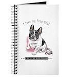Frog Dog (Pied Girl) Journal