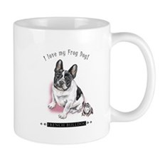 Frog Dog (Pied Girl) Mug