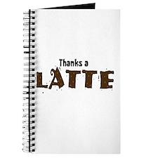Thanks A Latte Journal