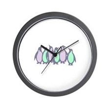 Penguin Two Wall Clock