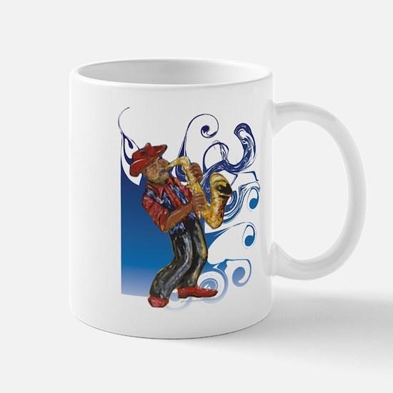 Saxman T-Shirt Mug