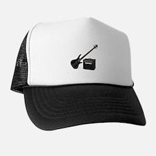 Unique Bass guitar Trucker Hat