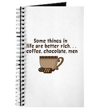 Coffee Chocolate & Men Journal