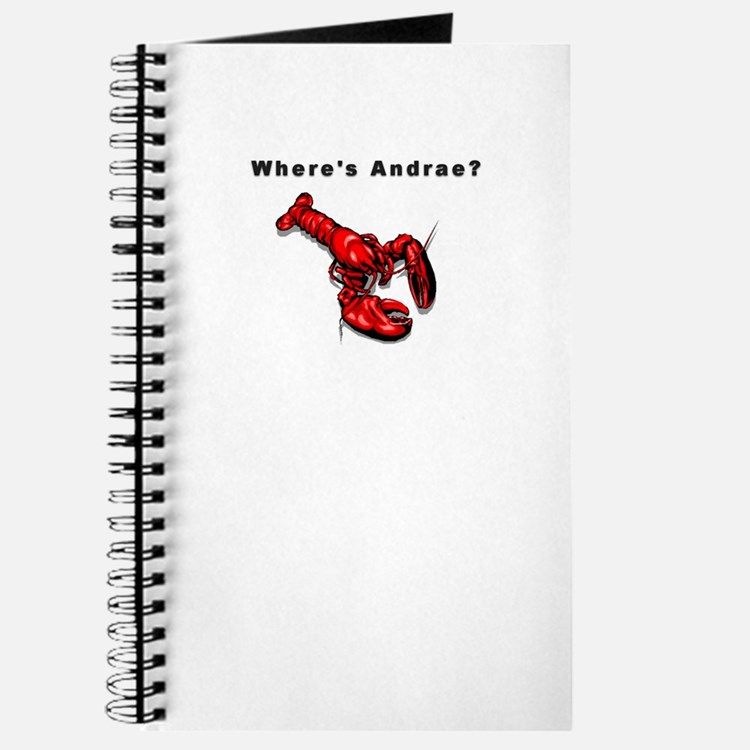 Where's Andrae? Journal