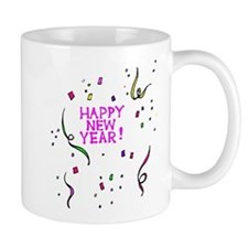 Cute Vintage happy new year Mug