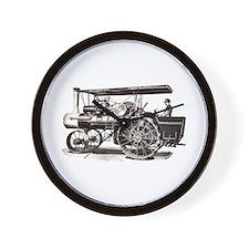 Baker Steam Tractor - Wall Clock