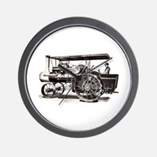 Baker Steam Tractor - Wall Clock