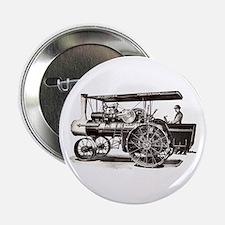 "Baker Steam Tractor - 2.25"" Button"
