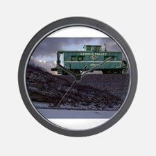 Lehigh Valley Caboose Wall Clock