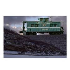 Lehigh Valley Caboose Postcards (Package of 8)