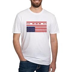 SOS Distress American Flag Shirt