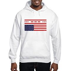 SOS Distress American Flag Hoodie