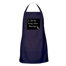 New Moon Strong Silent Hairy Apron (dark)