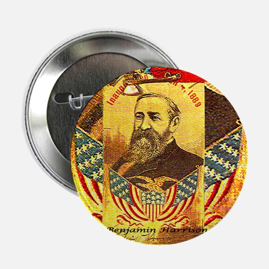"Benjamin Harrison - 2.25"" Button"