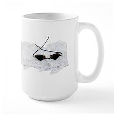 Retro glasses and jabot Mug