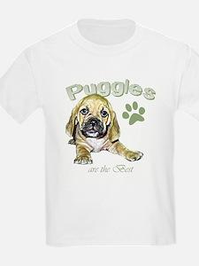 The Best Puggle Design Kids T-Shirt