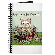 Pardon My French Bulldog Journal