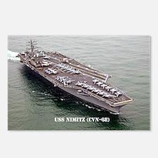 USS NIMITZ Postcards (Package of 8)