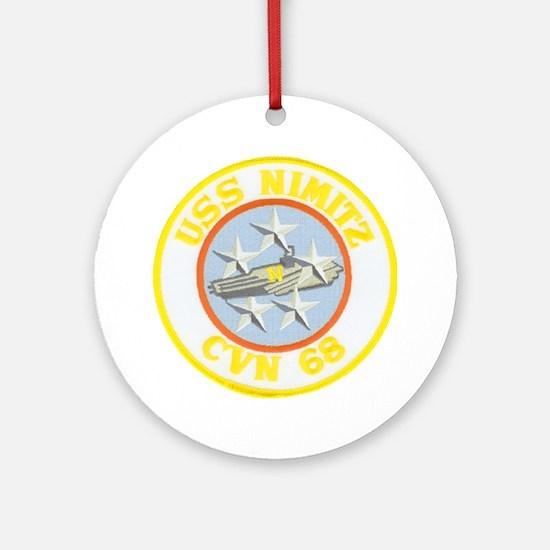 USS NIMITZ Ornament (Round)