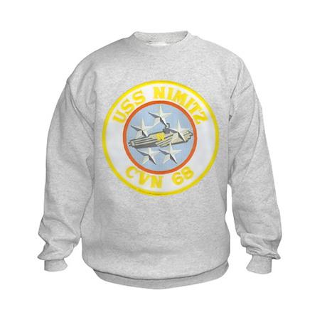 USS NIMITZ Kids Sweatshirt