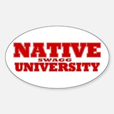 Swagg University Oval Decal