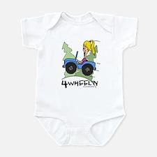 Chloe Four Wheeling Infant Bodysuit